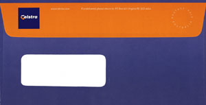 telstra wallet envelope