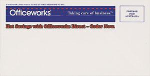 officeworks wallet envelope